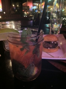 Mint Julep with Slider