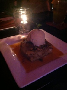 Pistachio Bread Pudding